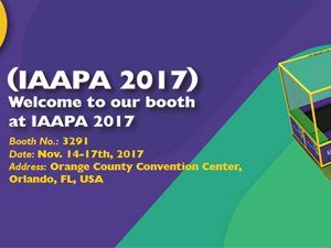Welcome to visit our IAAPA booth stand
