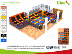 Liben 6th Trampoline Park Project in Chile