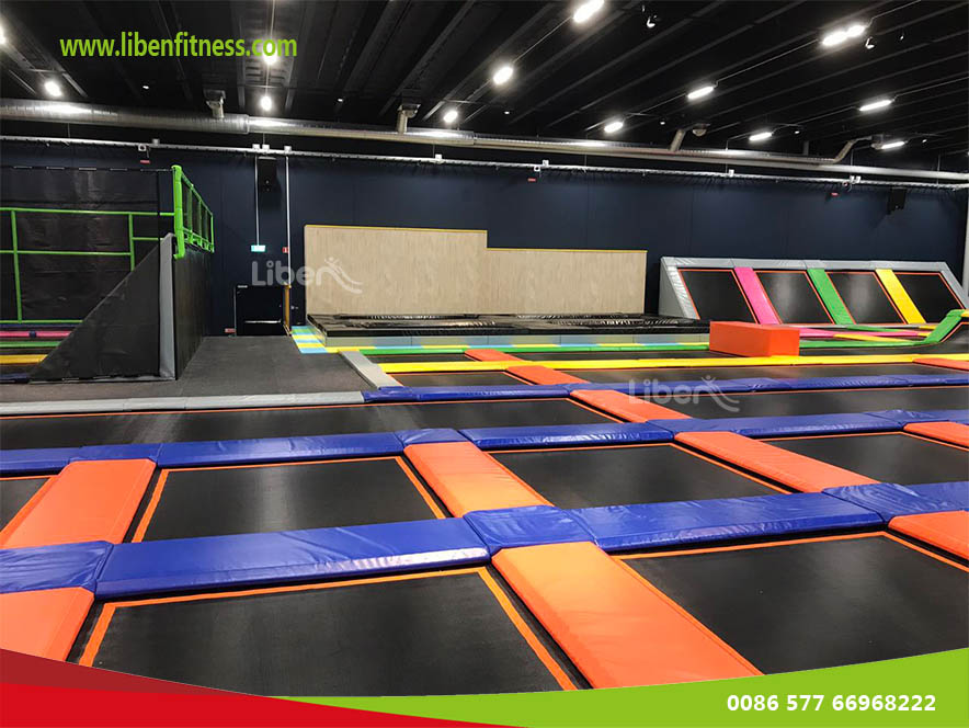 Trampoline Park Project in Dubai